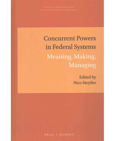 Concurrent Powers in Federal Systems : Meaning, Making, Managing (Hardcover) - image 1 of 1
