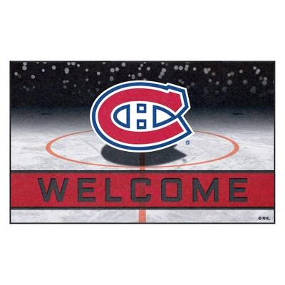 """NHL Montreal Canadiens Crumb Rubber Door Mat 18""""x30"""""""