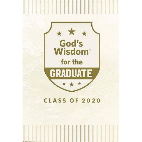 God's Wisdom for the Graduate: Class of 2020 - White - (God's Wisdom(r)) by  Jack Countryman (Hardcover) - image 1 of 1