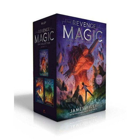 The Revenge of Magic Epic Collection Books 1-3 - by  James Riley (Hardcover) - image 1 of 1