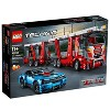 LEGO Technic Car Transporter 42098 Toy Truck and Trailer Building Set with Blue Car - image 4 of 4