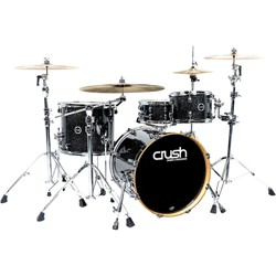 "Crush Drums & Percussion Sublime E3 Maple 4-Piece Shell Pack with 20x18"" Bass Drum"