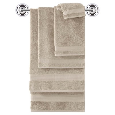 Turkish Bath Towel Set 6pc Oh So Khaki - Makroteks