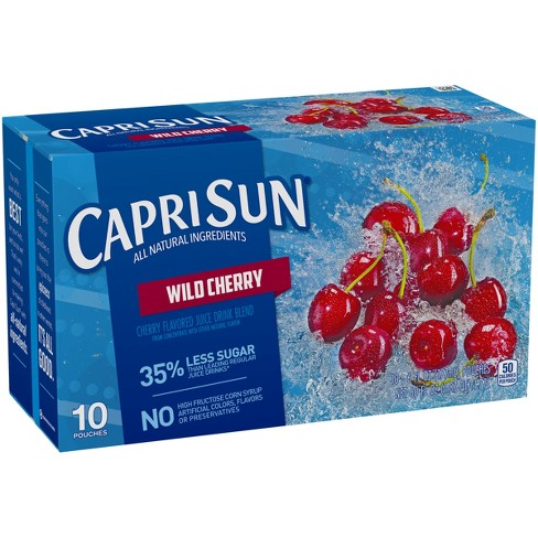 Capri Sun Wild Cherry - 10pk/6 fl oz Pouches - image 1 of 3