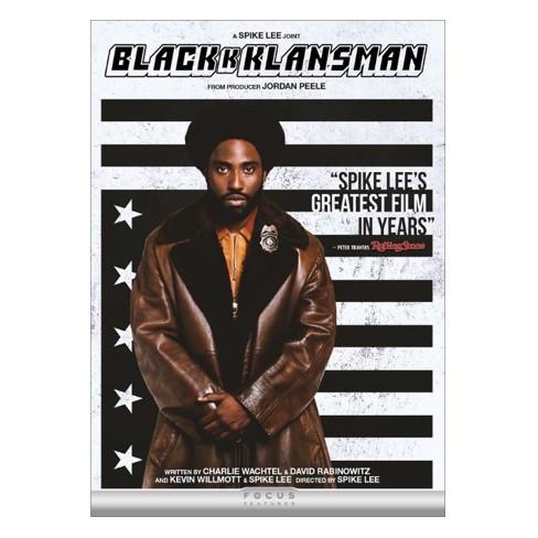 Blackkklansman Dvd Target