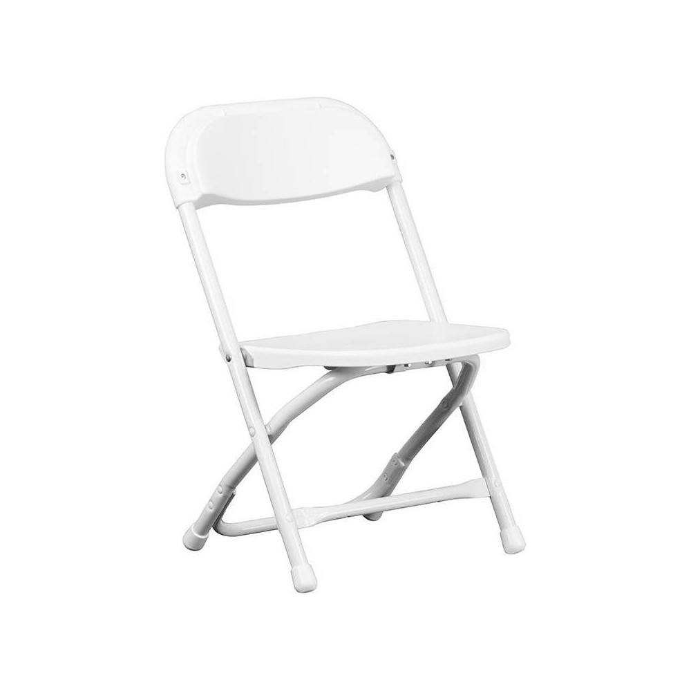 Image of Riverstone Furniture Collection Kid's Folding Chair White