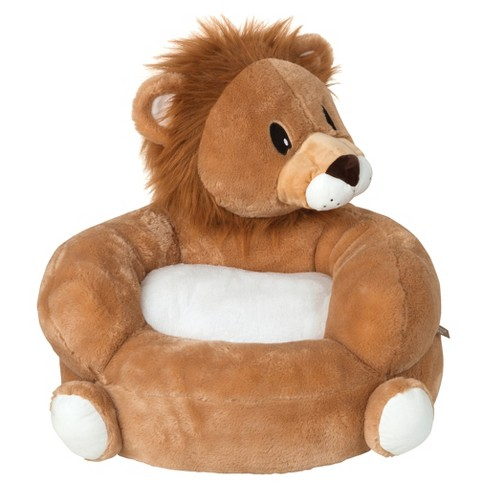 Children\'s Plush Character Chair - Lion Tan/White - Trend Lab : Target