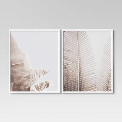 "(Set of 2) 24"" x 30"" Palms Framed Wall Art - Project 62™"