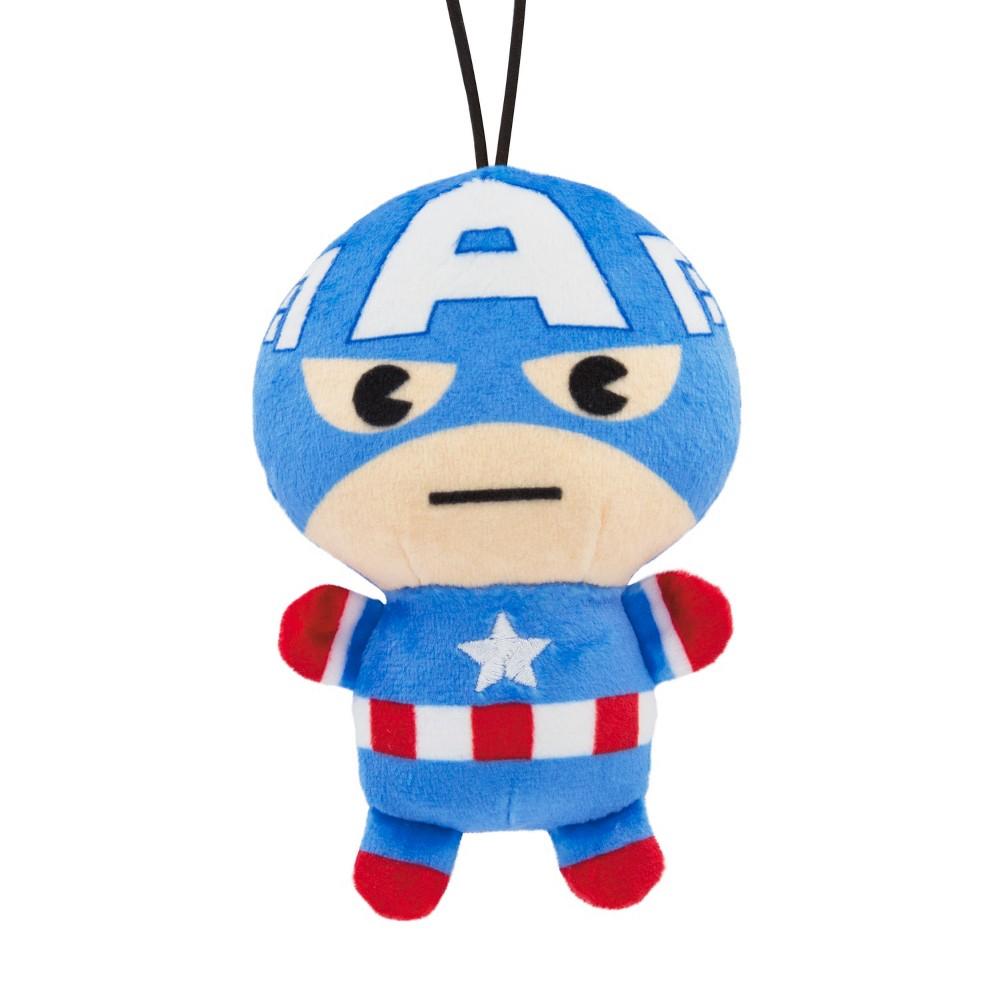 Hallmark DC Super Heroes Captain America Christmas Ornament, Multi-Colored