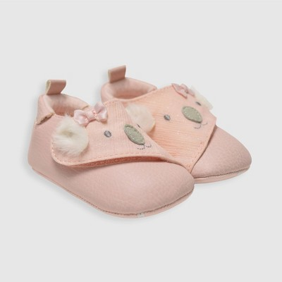 Baby Girls' Ro+Me by Robeez Kato Sneakers - Rose Gold 0-6M