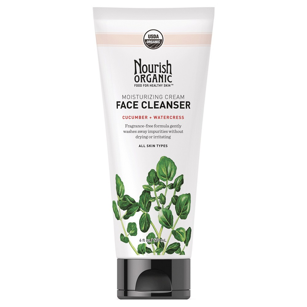 Image of Unscented Nourish Organic Moisturizing Face Cleanser - 6oz
