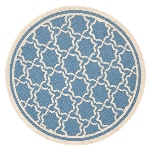 "Isla Patio Round 7'10"" Rug - Blue / Beige - Safavieh® - image 1 of 1"
