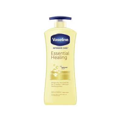 Body Lotions: Vaseline Intensive Care Essential Healing