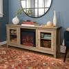 TV/Media stand fireplace - Saracina Home - image 2 of 4