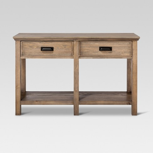 Gilford Console Table Gray Threshold Target