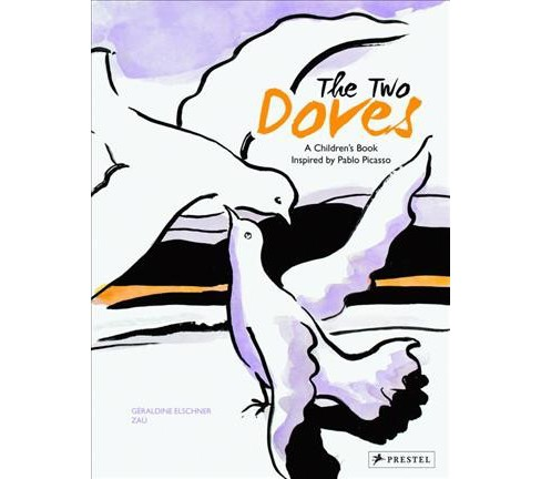Two Doves -  by Geraldine Elschner (Hardcover) - image 1 of 1