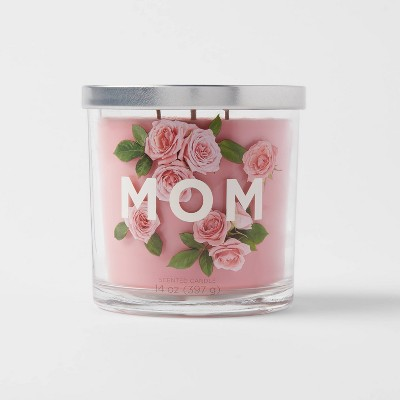14oz Glass Jar 3-Wick Mom Candle - Opalhouse™