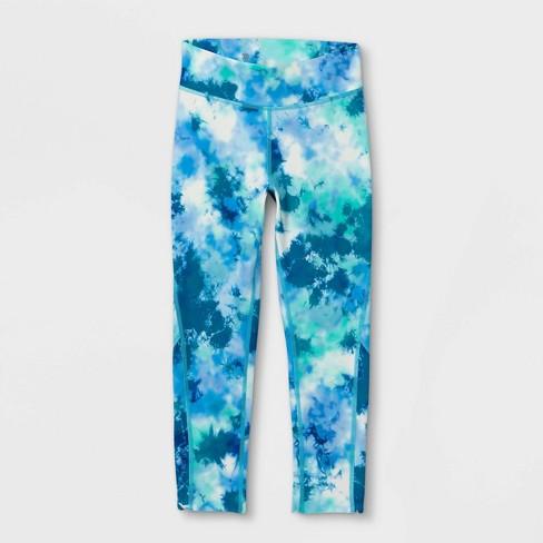 Girls' Printed Capri Leggings - All in Motion™ - image 1 of 2
