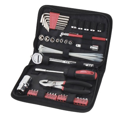 Apollo Tools 56pc DT9775 Auto Tool Set In Zippered Case Metric