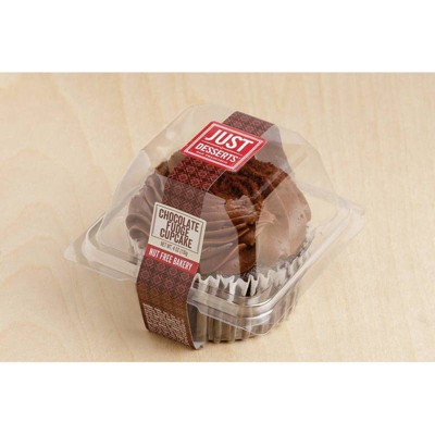 Just Desserts All Natural Chocolate Cupcakes - 4oz