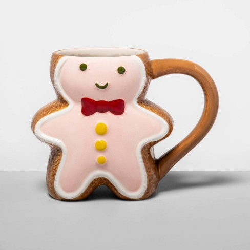 12oz Earthenware Gingerbread Mug  - Opalhouse™ - image 1 of 1