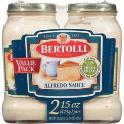 Bertolli Alfredo Pasta Sauce Twin Pack - 15oz