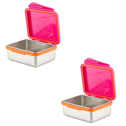Kid Basix 13 Ounce Safe Snacker Reusable Lunch Container w/ Attached Lid(2 Pack) - image 1 of 1