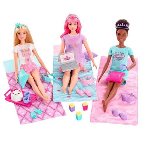 Barbie Princess Adventure Playset with Barbie Doll, Daisy Doll and Nikki Doll - image 1 of 4