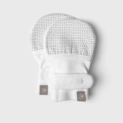 Goumi Baby Drops Mittens - Gray 0-3M