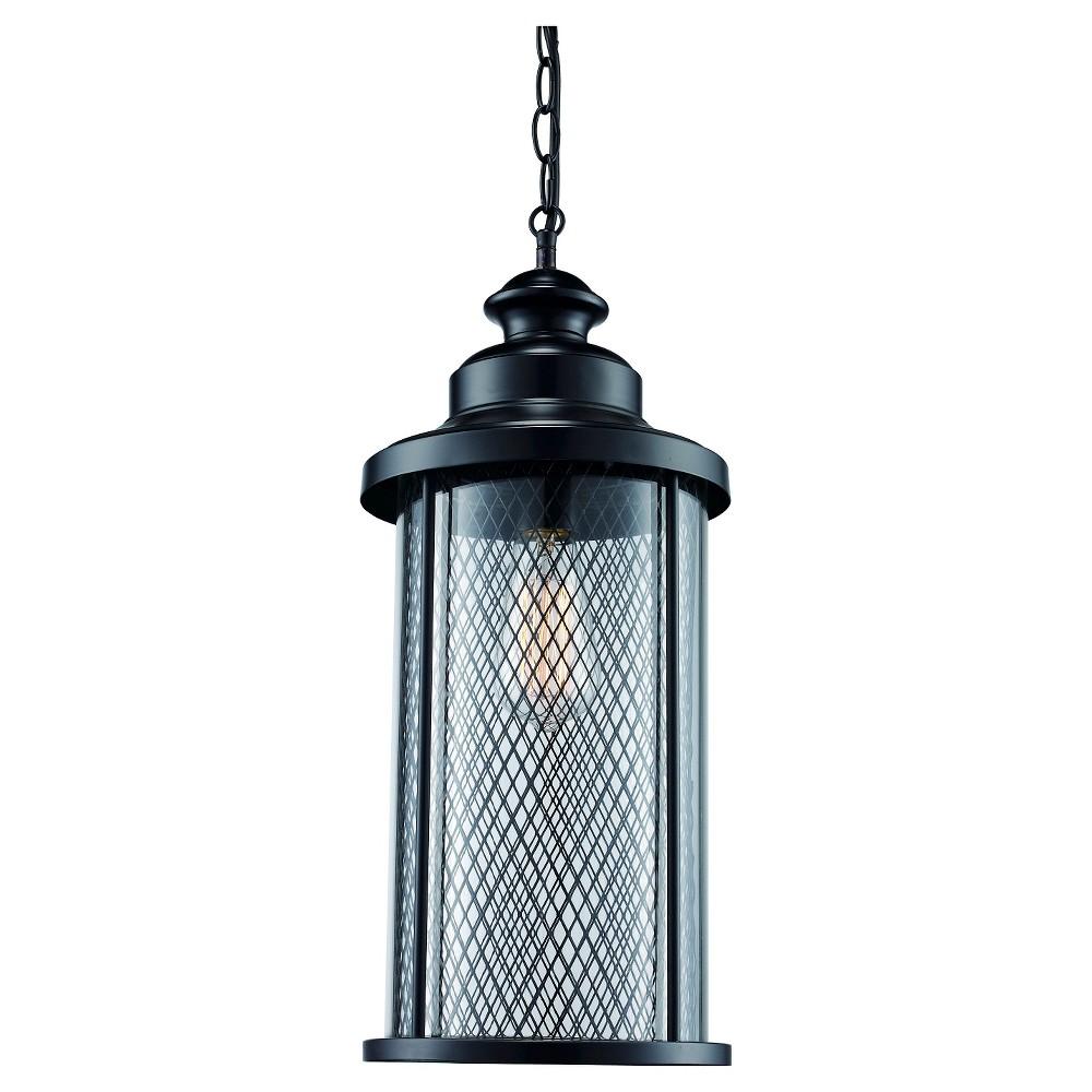 Image of Bel Air Lighting Outdoor Hanging Pendant Black