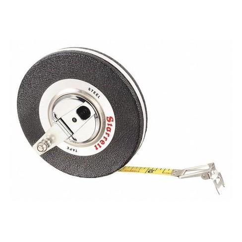 "STARRETT 530JT-50 50 ft. Long Tape Measure, 3/8"" Blade, 1/8"" Grad. - image 1 of 1"