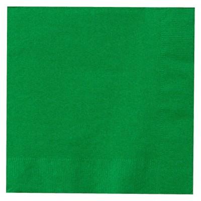 50ct Emerald Green Dinner Napkin