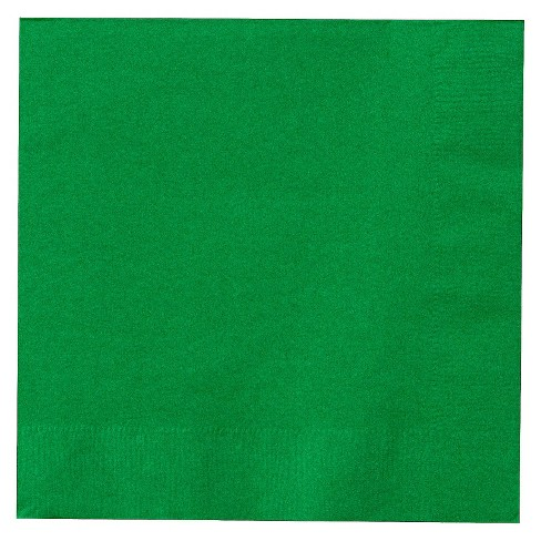 50ct Emerald Green Dinner Napkin - image 1 of 1