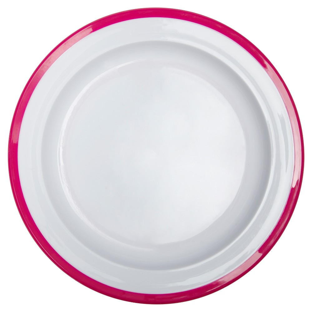 Oxo Plastic Dinner Plate 8.3 - Pink