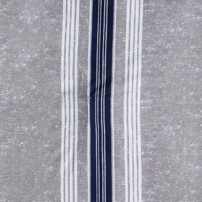 Gray/Blue Stripe