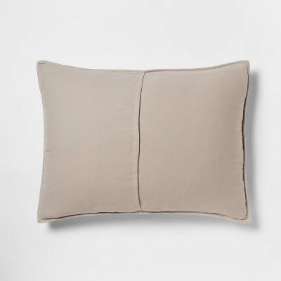 Herringbone Flannel Sham - Threshold™ : Target