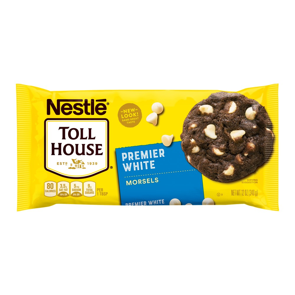 Nestle Toll House Premier White Chocolate Morsels - 12oz