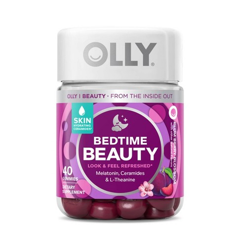 Olly Bedtime Beauty Sleep Supplement Gummies - Berry - 40ct - image 1 of 4