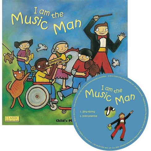 I Am the Music Man - (Classic Books with Holes Us Soft Cover with CD) (Mixed media product) - image 1 of 1