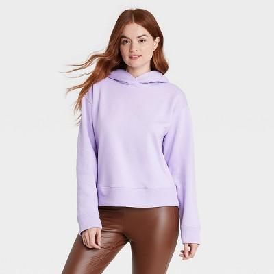 Women's Hooded Sweatshirt - A New Day™ Lavender M