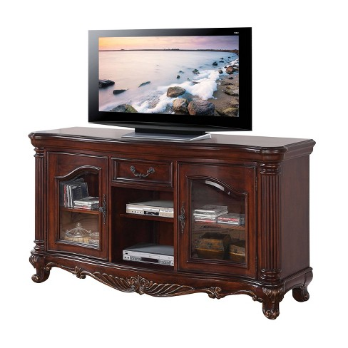 Remington TV Stand Cherry Brown - Acme - image 1 of 2