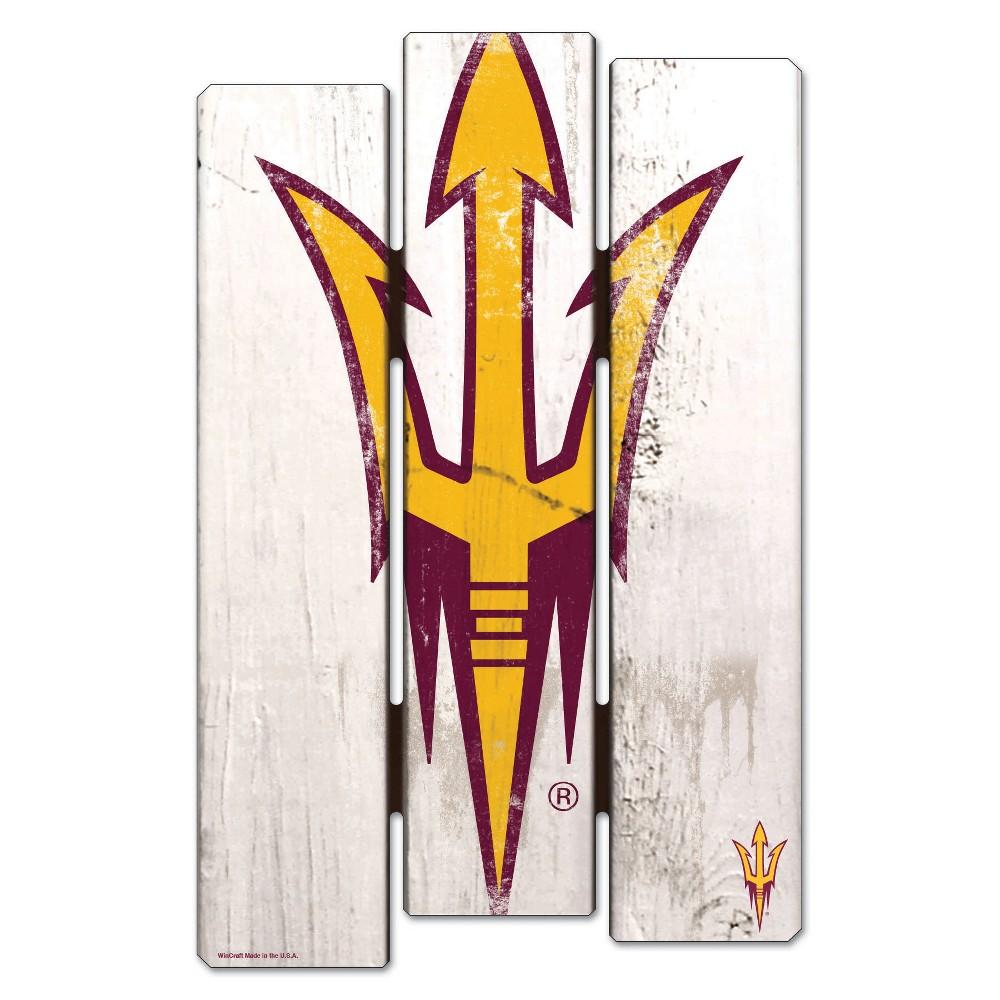 NCAA Arizona State Sun Devils Fence Wall Sign