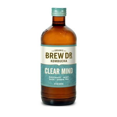 Brew Dr. Kombucha Clear Mind - 14 fl oz