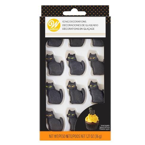 Wilton Black Cat Royal Icing Dec - 1.27oz - image 1 of 4