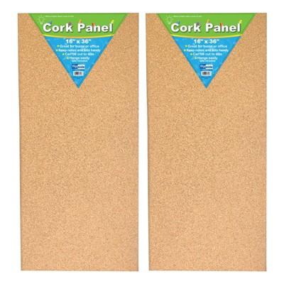 "2pk 16"" x 36"" Cork Panels - Flipside"