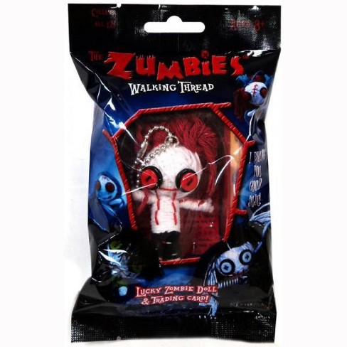 The Zumbies Walking Thread Lucky Zombie Doll Spencer Keychain - image 1 of 1
