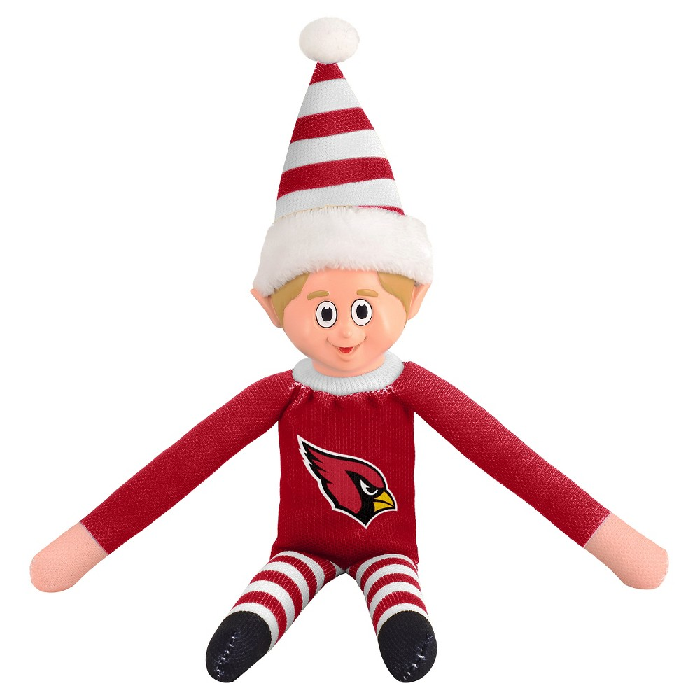 Forever Collectibles Arizona Cardinals Holiday Elf