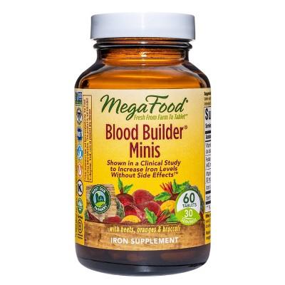 MegaFood Blood Builder Mini Supplement - 60ct