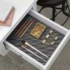 Con-Tact Brand Grip Premium Non-Adhesive Shelf Liner- Thick Grip Black (18''x 8') - image 3 of 4