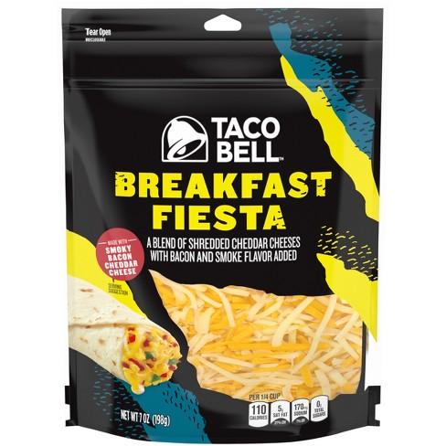 Taco Bell Breakfast Fiesta Shredded Cheese - 7oz - image 1 of 4